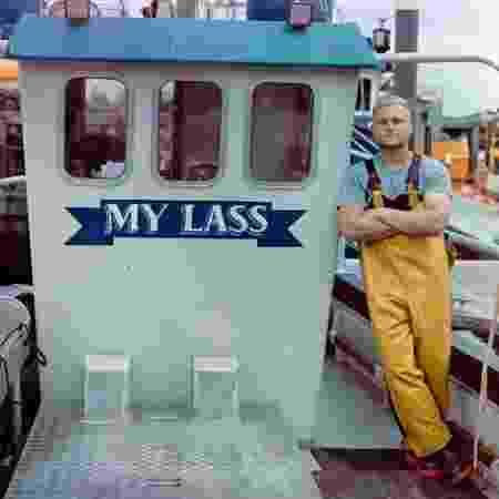 Tom Lambourn, pescador - Reprodução/ Facebook / Tom Lambourn - Reprodução/ Facebook / Tom Lambourn