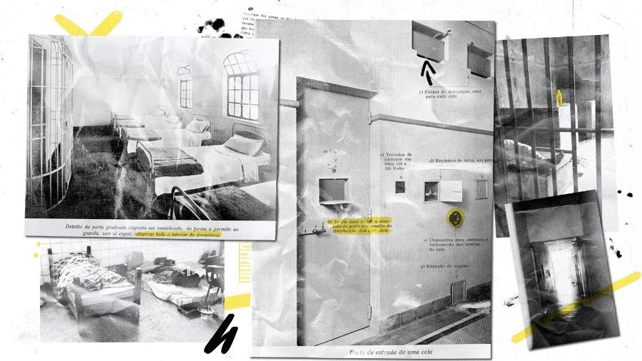 Manicômios funcionavam como prisões e usavam tratamentos hoje rechaçados pela medicina - Yasmin Ayumi/UOL
