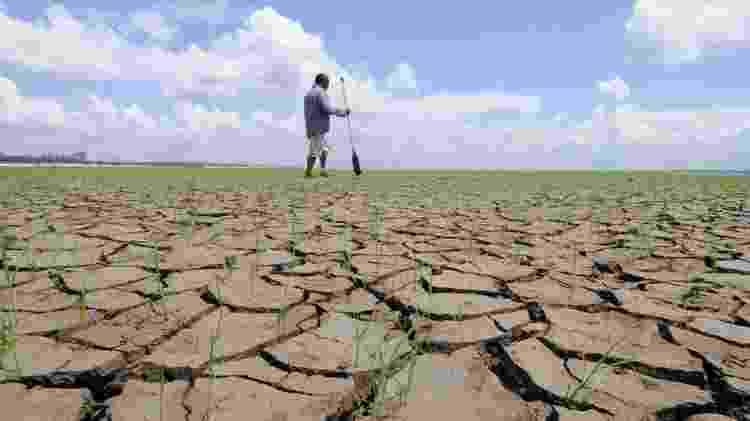 No pior cenário previsto, o número de dias por ano com temperaturas máximas superiores a 35° C aumentaria em até mais de 150 dias até o final do século 21 na Amazônia - Euzivaldo Queiroz/Reuters - Euzivaldo Queiroz/Reuters