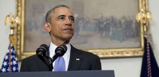 17.jan.2016 - Presidente Barack Obama fala sobre o fim das sanções norte-americanas ao Irã após acordo nuclear.