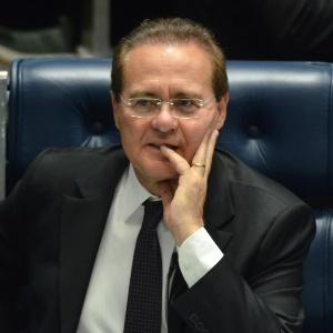 Renan Calheiros, presidente do Senado