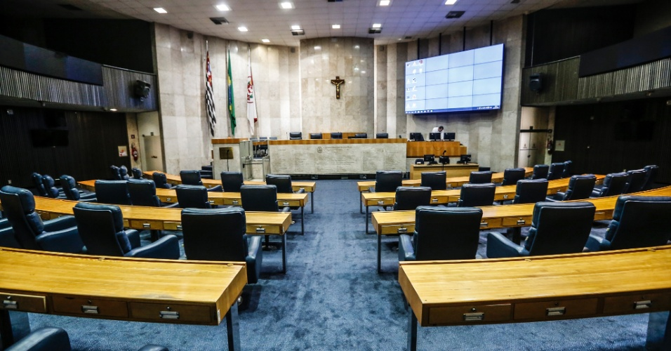 Câmara Municipal, Câmara dos Vereadores, São Paulo, Plenário