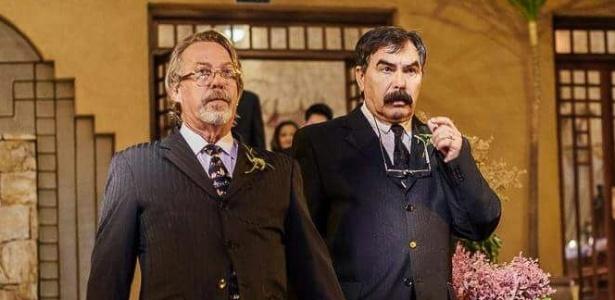Luiz Carlos Sereno e Miguel Sevilla Neto casaram-se após um relacionamento de 28 anos - Reprodução/Facebook