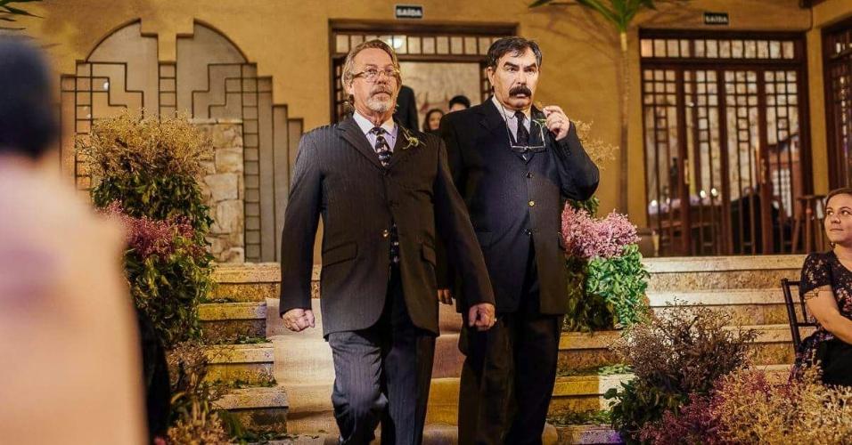 23.nov.2016 - Luiz Carlos Sereno e Miguel Sevilla Neto casaram-se em 2014, após um relacionamento de 28 anos