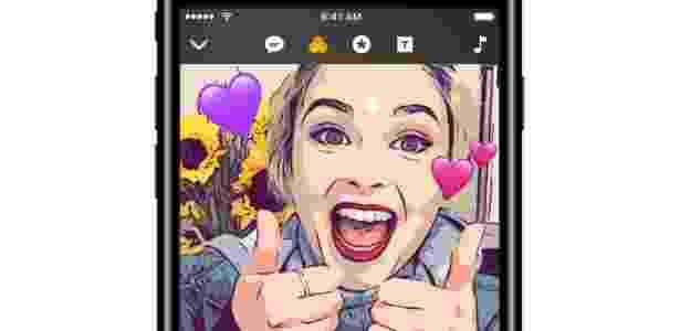 Clip, app da Apple que permite criar vídeos animados com filtros - Divulgação - Divulgação
