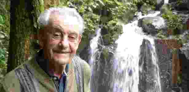 Prestes a completar 84 anos Antonio Vicente orgulha-se de ter plantado a própria floresta - Gibby Zobel