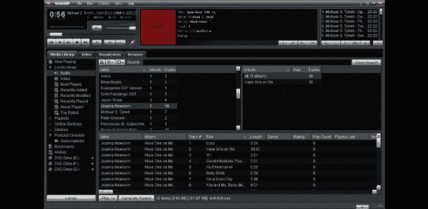 Winamp 5.6 - Reprodução - Reprodução