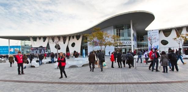Fira Gran Via, centro de convenções em Barcelona que sedia a Mobile World Congress