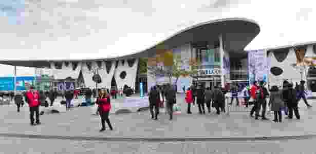 Fira Gran Via, centro de convenções em Barcelona que sedia a Mobile World Congress - Antonio Navarro Wijkmark/Divulgação
