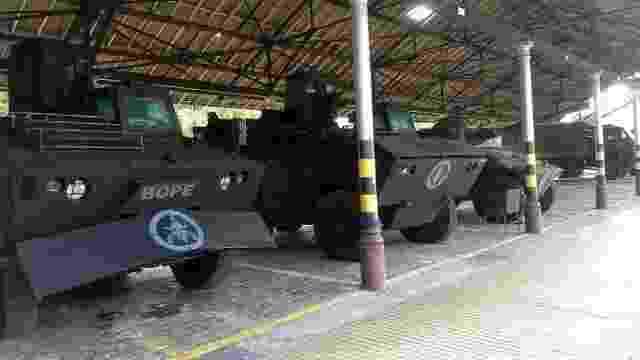 Urutus do Exército preparados para doação do Bope do Rio de Janeiro - Exército Brasileiro / Divulgação