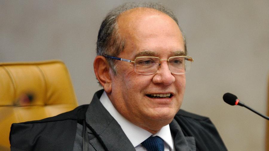 O ministro Gilmar Mendes durante sessão do STF (Supremo Tribunal Federal) - Rosinei Coutinho/STF