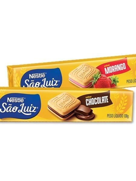 Biscoito foi relançado em dois sabores: morango e chocolate - Divulgação