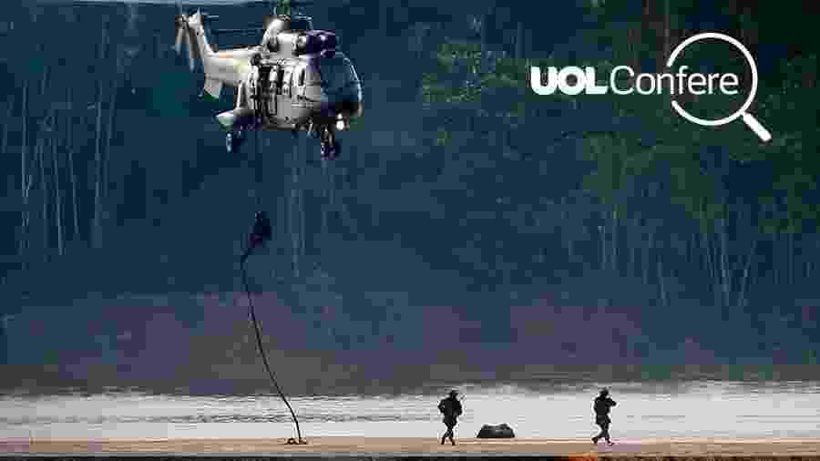 Arte UOL sobre foto de Adriano Machado/Reuters