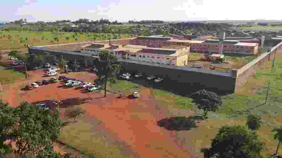 Penitenciária de Pedro Juan Caballero, no Paraguai - Divulgação