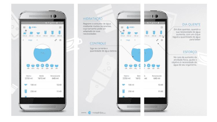 Hydro: aplicativos para ajudar quem é esquecido - Reprodução - Reprodução