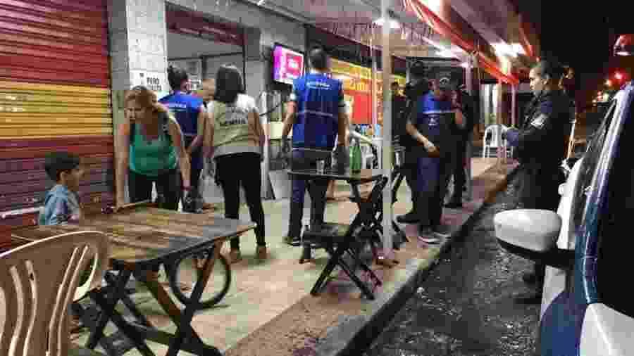 Guarda Municipal fechou bares em funcionamento em Vila Velha, no Espírito Santo - Guarda Municipal de Vila Velha/Divulgação