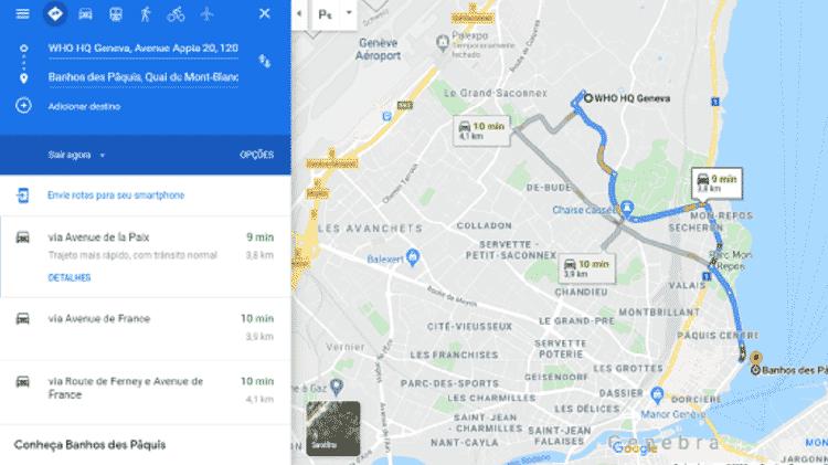 comprova5 - Reprodução/Google Maps - Reprodução/Google Maps