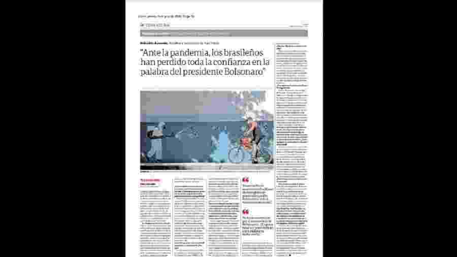 Reprodução/Clarín