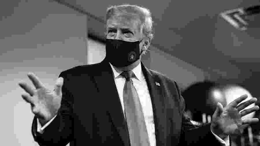 """Nas redes sociais, presidente dos EUA também voltou a se referir ao coronavírus como """"vírus chinês"""" - Reprodução/Twitter"""
