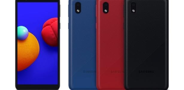 Galaxy A01 Core | Novo celular 'basicaço' da Samsung chega ao Brasil por R$ 999