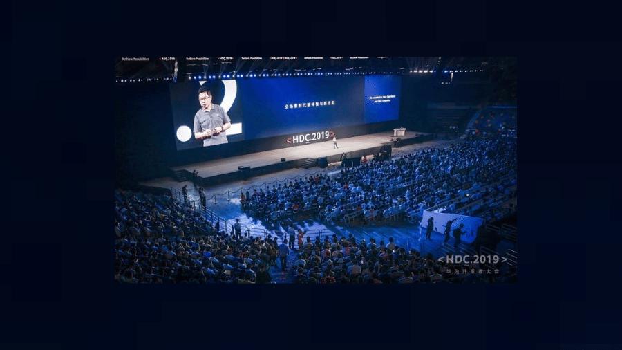 Harmony OS é apresentado ao público: sistema operacional deve ser usado por 500 milhões de smartphones a cada ano - Divulgação/Huawei