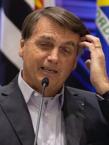 O presidente Jair Bolsonaro (sem partido) contou com um Congresso Nacional menos fiel ao governo durante a pandemia, mostra análise do Observatório do Legislativo Brasileiro - Bruno Rocha/Fotoarena/Estadão Conteúdo