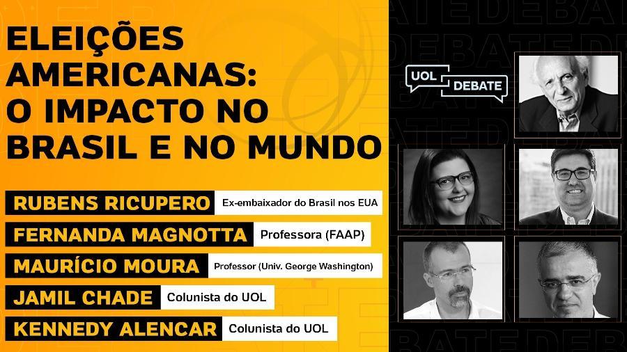 UOL Debate (04.11.2020) - Arte/UOL
