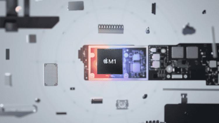 M1, processador da Apple - Reprodução - Reprodução