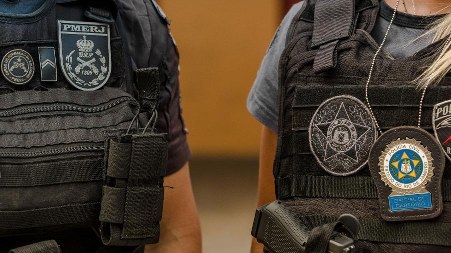 Divulgação/Governo do Estado do Rio de Janeiro - Microcâmeras não têm prazo para serem instaladas nos uniformes dos agentes