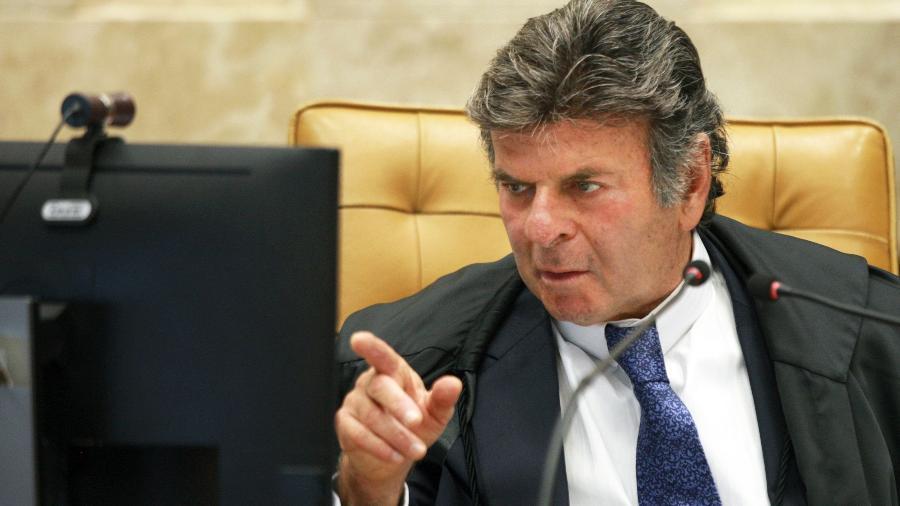 Ministro Luiz Fux preside sessão plenária do STF por videoconferência.  - Nelson Jr./SCO/STF
