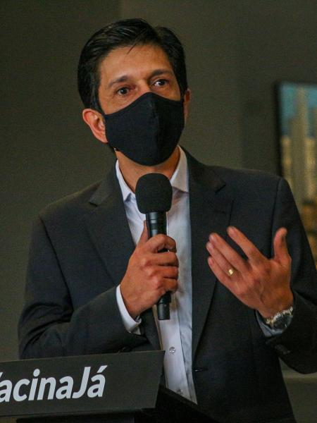 Prefeito de São Paulo, Ricardo Nunes (MDB) - Divulgação/Governo de São Paulo