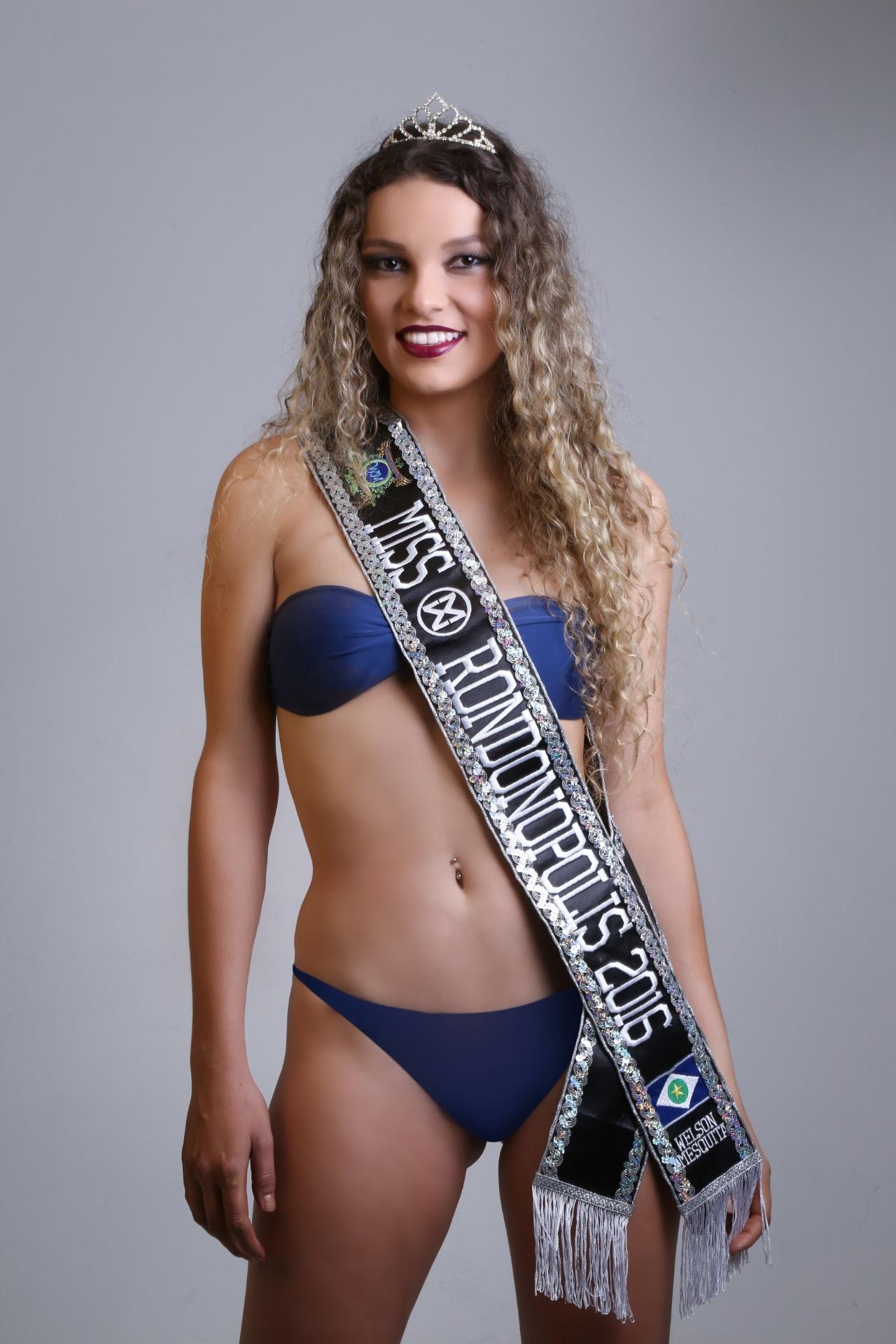 27.jan.2016 - Rondonópolis - Ludmilla Hollenbach, 23 anos