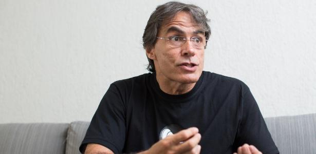 Renato Pereira, marqueteiro do governador Luiz Fernando Pezão, no escritório da agência Prole, no Rio