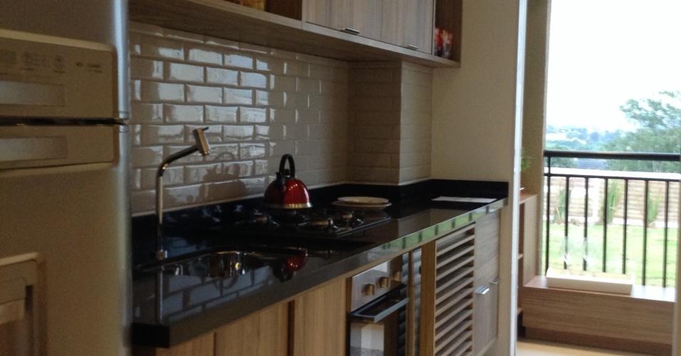 Cozinha do apartamento da Danpris Construtora
