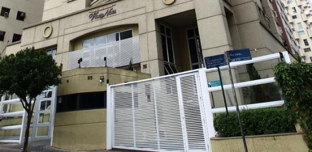 Fachada do prédio no bairro Vila Nova Conceição, com vista para o parque Ibirapuera, onde o doleiro Alberto Youssef vai cumprir prisão domiciliar
