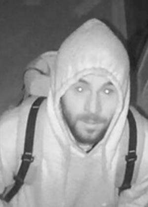 3.jan.2017 - Suspeito não identificado por roubo de joalheira é visto em câmera de segurança em Nova York (EUA)