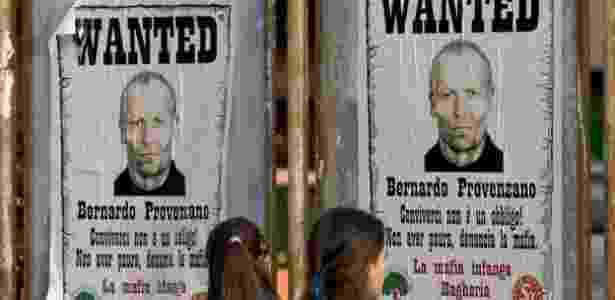 Bernardo Provenzano, um dos chefes da Cosa Nostra, doi detido em 2006, após passar 42 anos como fugitivo - GETTY/FABRIZIO VILLA/BBC - GETTY/FABRIZIO VILLA/BBC