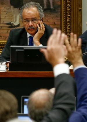 9.ago.2017 - Deputado Vicente Cândido (PT-SP), relator da PEC da reforma política