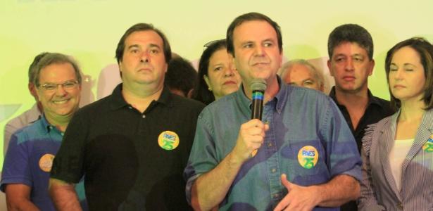 Eduardo Paes foi oficializado em convenção no dia 29 de julho