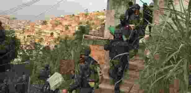 Depósito de maconha do Comando Vermelho ficava na Favela da Grota - Comando Conjunto / CML - Comando Conjunto / CML