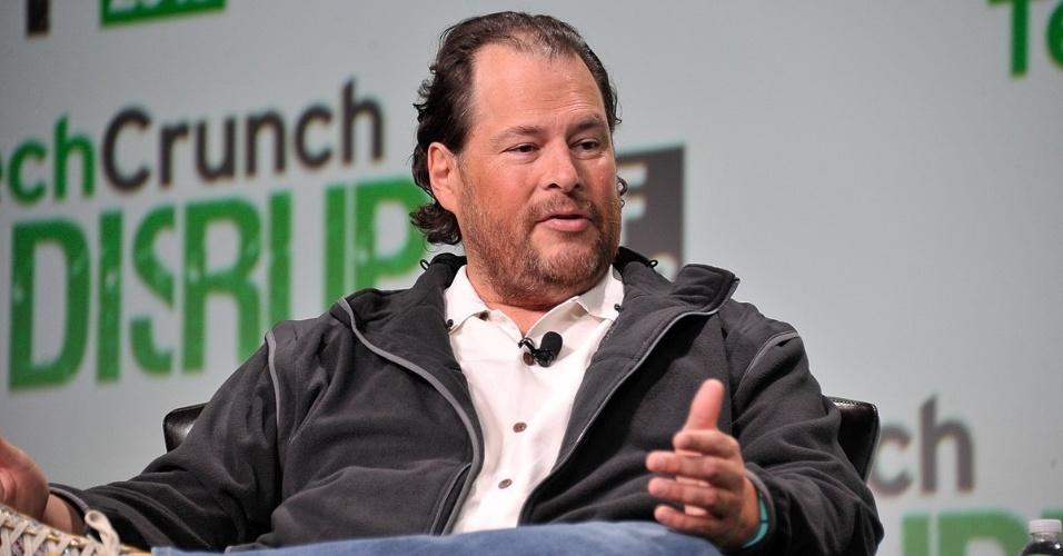 Marc Benioff é fundador da Salesforce, que constrói sistemas corporativos. Sua fortuna é estimada em US$ 5,8 bilhões.