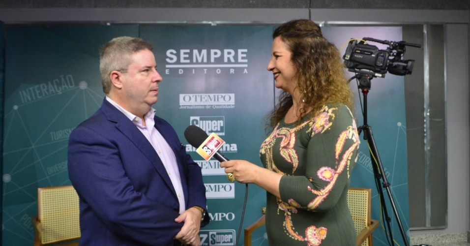 Contagem MG Sabatina Segundo Turno com os candidatos ao governo de Minas Gerais Na foto: Antonio Anastasia