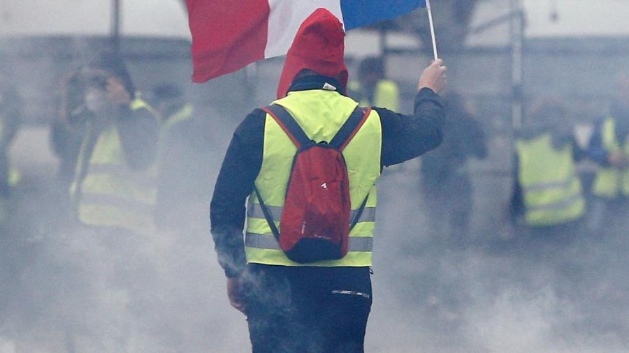 """Manifestações de """"jalecos amarelos"""" adiaram partidas de Paris Saint-Germain, Monaco e Olympique de Marselha para janeiro - Stephane Mahe/Reuters"""