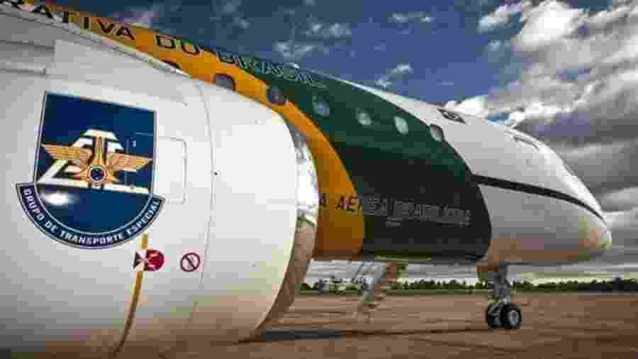 Um dos aviões da Embraer que transportam autoridades e ajudam em comitivas  - Sgt Johnson/Agência FAB