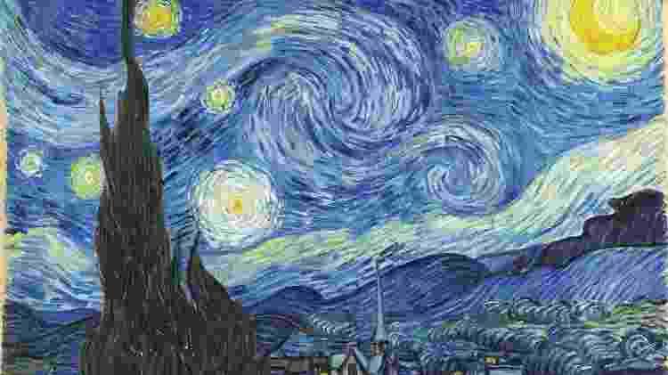 'A Noite Estrelada', quadro pintado por Van Gogh - Wikimedia Commons