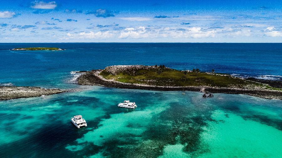 Area de proteção ambiental marinha de Abrolhos na costa do sul da Bahia  - Rubens Cavallari/Folhapress