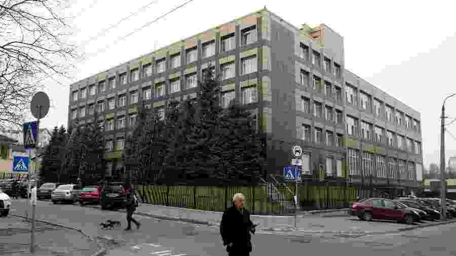 Sede da empresa de gás Burisma em Kiev, na Ucrânia - Reuters