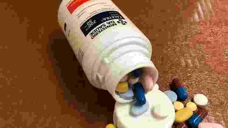 Antirretrovirais para o tratamento da Aids - Paulo Sampaio/UOL