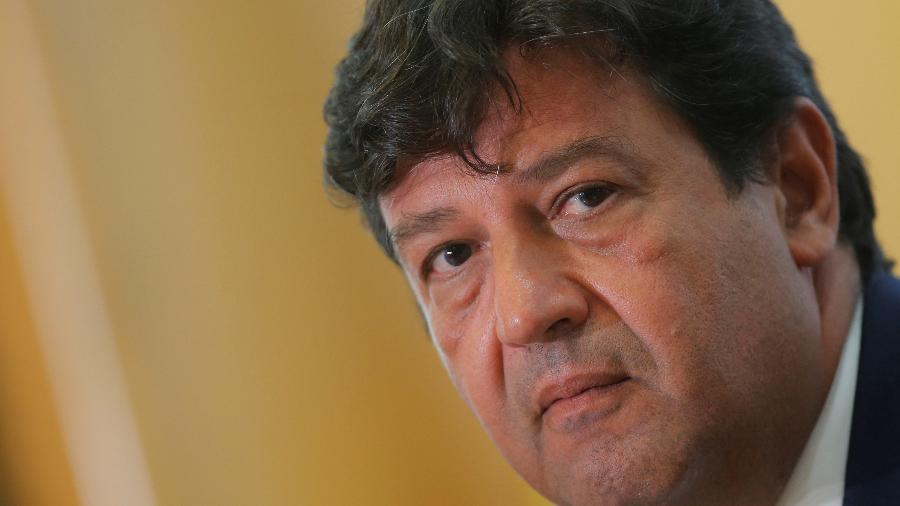Ex-ministro da Saúde do governo Bolsonaro, Luiz Henrique Mandetta foi ouvido na CPI da Covid no Senado - ADRIANO MACHADO