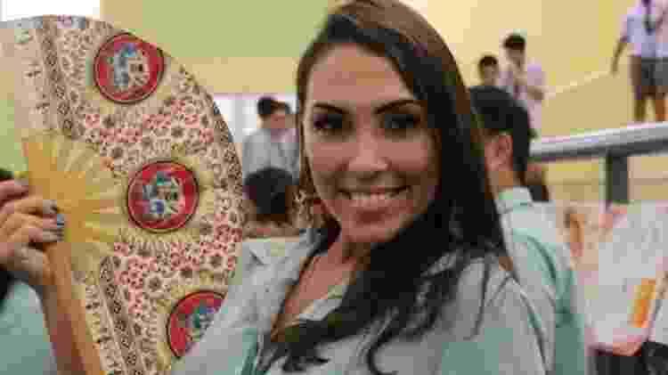 Thaís Torres está há 10 dias tentando voltar para o Brasil - Arquivo pessoal - Arquivo pessoal